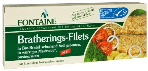 Preisvergleich Produktbild Fontaine Brathering-Filets in Bio-Marinade 325g Fischkonserve