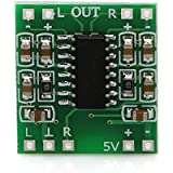 Robodo PAM8403S DC 5V Class D Mini Digital Amplifier Board Module Green