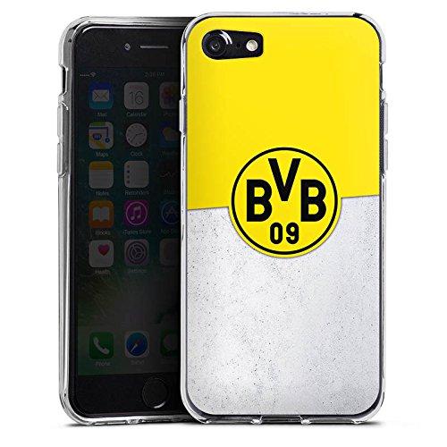 Apple iPhone X Silikon Hülle Case Schutzhülle Borussia Dortmund Fanartikel BVB Silikon Case transparent