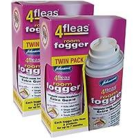 2 X Johnson's Veterinary Flea Killer Bomb Room Fogger Multi pack by Johnson's Flea Fogger