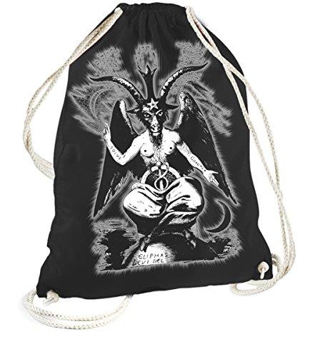 Rock Style Black Baphomet 702458Sports Gym Bags nero taglia unica