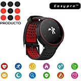 Easypro™ X Edition-2 Smart Fitness Band Blood Pressure Oxygen Heart Rate Monitor Smart Watch Waterproof Bluetooth Smart Bracelet For IOS Android Devices (Color As Available) For Apple IPhone 6s