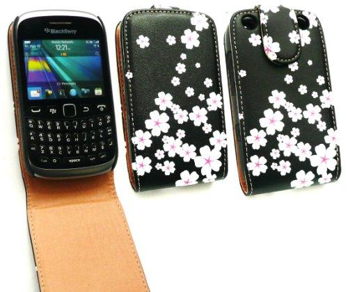 Emartbuy ® BlackBerry 9320 Curve di lusso PU Leather Flip
