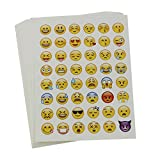 20 Sheets Die Cut Emoji Sticker for Phone Laptop Decor