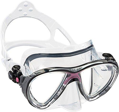 Cressi Unisex - Erwachsene Taucherbrille Big Eyes Evolution, rosa, DS336040