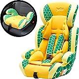 Kinderautositz / Autositz COMFORT + Sitzerhöhung MITWACHSEND 9-36 Kg (Gruppe 1+2+3) Modell: Schildkröte