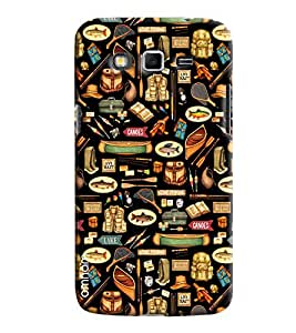 Omnam Food Pattern Printed Designer Back Cover Case For Samsung Galaxy Grand 2