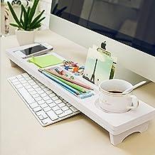 CYBERNOVA Organizzatore Scrivania Ufficio ,Organizer da scrivania, in legno, per riporre piccoli