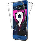 Coque Gel Honor 9 , Buyus Coque 360 Degres Protection INTEGRAL Anti Choc , Etui Ultra Mince Transparent INVISIBLE pour Honor 9 , Coque Honor 9