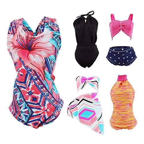 E-TING 5 Conjuntos Bikini Traje Baño Vestir Ropa