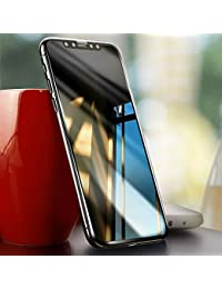 iPhone X Protector de pantalla, Ubegood iPhone X Vidrio Templado 3D Touch Compatibles 9H Dureza Screen Protector para iPhone X / iPhone 10 Templado Protector de Pantalla - Transparente