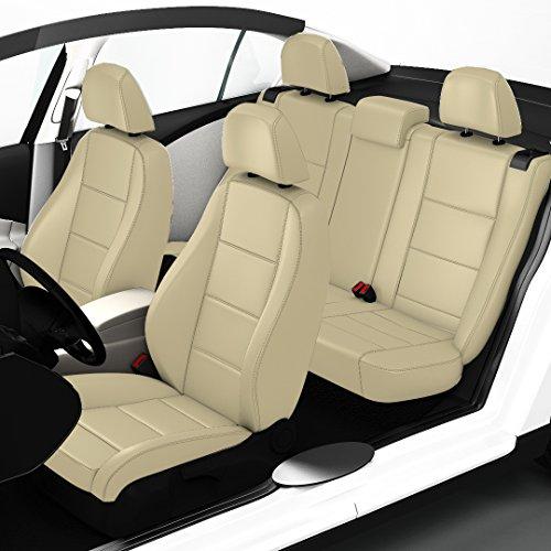 ZACASi - Skoda Octavia 2 - Coprisedili su misura in eco pelle secondo il design OEM; Set completo di coprisedili artigianali da Seat-Styler