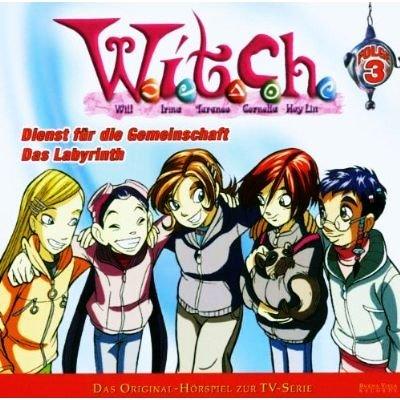 WITCH Folge 3 - Dienst für die Gemeinschaft & Das Labyrinth (Original-Hörspiel) [CD]