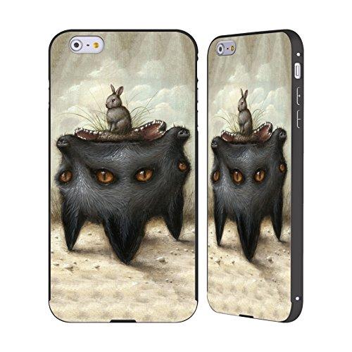 Ufficiale Jason Limon Riserva Rischiosa Al Contrario Nero Cover Contorno con Bumper in Alluminio per Apple iPhone 6 Plus / 6s Plus Presentimento Pericoloso
