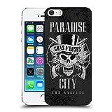 Head Case Designs Officiel Guns N' Roses Ville De Paradis Vintage Coque Dure pour l'arrière Compatible avec iPhone 5 iPhone 5s iPhone Se
