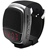 Svpro Altoparlanti Bluetooth Senza Fili Watch,Bracciale Intelligente con Lettore Musicale,Hands-Free Call,Autoscatto,Supporti USB,TF Prendendo Photoes e Visualizzazione orologio