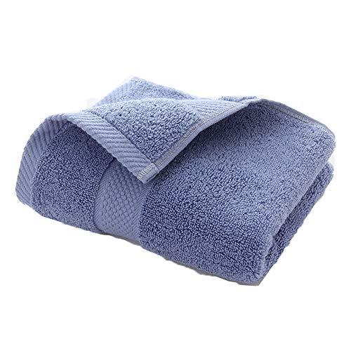 Handtuch, Baumwoll-absorbierendes Gesichtshandtuch, Absorbente, Gym, Running, Ciclismo, Yoga, Pilates, etc. Handtuch,Blue