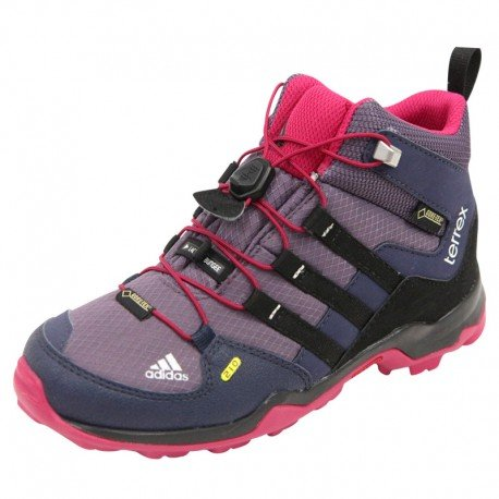 scarpe adidas Enfants Outdoor da trekking Terrex Mid GTX K collegiale marine / rosso solaire / luminosa royal blu / rosso / nero - B39943