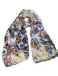 Nice light weight chiffon gauze scarf jewels