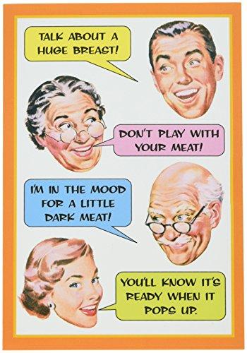bendessen '- Funny Thanksgiving Grußkarte 12,7x 17,8cm mit Kuvert, Nobleworks ()