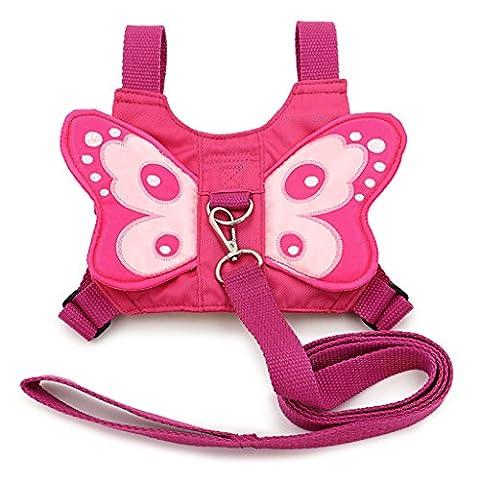 BTSKY Baby Toddler Kids Butterfly Wings Safety