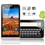 "Star B72M 3G DualSim Android Smartphone (4,1"" Multitouch-Display, 2x3000 mAh-Akku, GPS, UMTS, WLAN, Bluetooth, USB, 5 MP Kamera) inkl. Schutztasche"