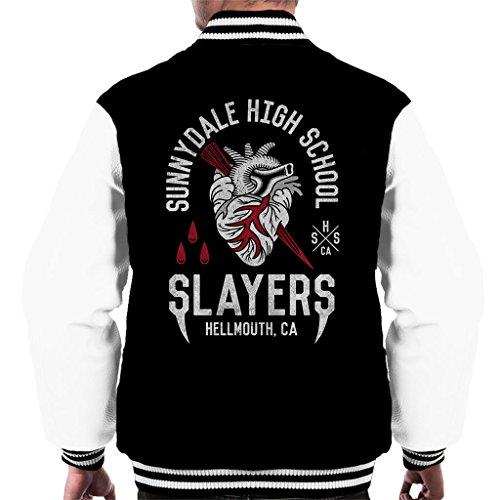 Cloud City 7 Sunnydale High School Buffy The Vampire Slayer Men's Varsity Jacket High-school-varsity-jacken