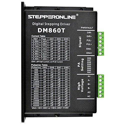 Digitaler Schrittmotor Treiber 2.4-7.2A 18-80VAC or 36-110VDC Stepper Motor Driver Für Nema 34 CNC Stepping Motor ()