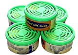 Baren Jasmin Aroma 5 Stück Nachfüllpackungen Jasmin für Luftreiniger B-757, B-H04, B-668, Grün
