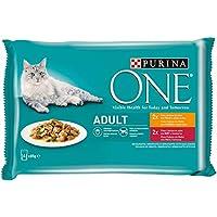 ONE PURINA Comida húmeda para Gato Adulto 4x85g