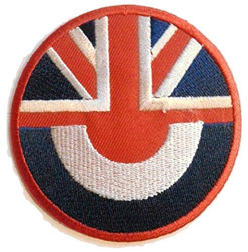 Flaggen Aufbügler Aufnäher Patches für Jacken Jeans Kleidung Bügelbilder Flicken Stoff Patch Kleider Aufnäher Patches Aufbügler zum Aufbügeln