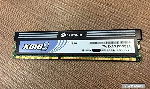 1 x Corsair 2GB Modul DDR3 DDR3 1333MHz (PC3-10666) aus einem TW3X4G1333C9A Kit -