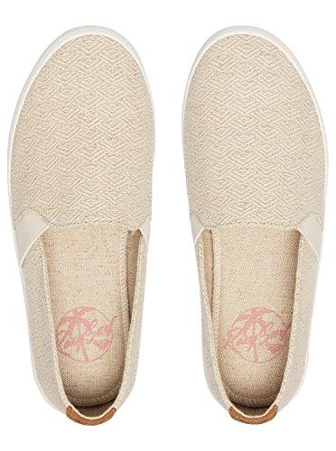 Cesti Femme Blanc Roxy on Slip Crema Atlanta 5wnqOf
