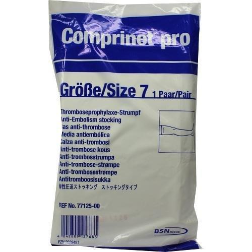 Comprinet pro Strumpf Oberschenkel Lang Größe 7 Weiß, 2 St
