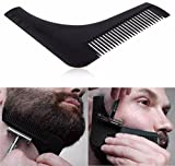 #8: Anoop Beard Shaping & Styling Tool Comb for Perfect Beard Lines & Symmetry (Black)