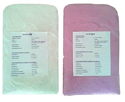 Caoutchouc Rose-Violet Non-Toxiques Des Moules En Silicone Souple Pour CréEr Jette Pa 535 (500 Gr)