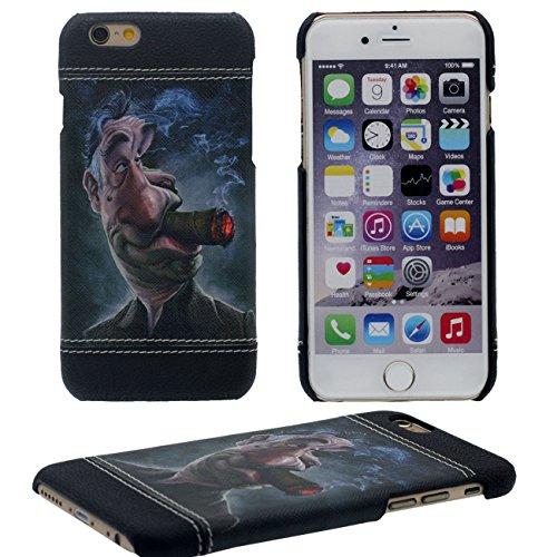 iPhone 7 Plus Coque Mince et Léger, Dur Plastique 3D Grain Peinture Motif Style ( Don't Touch My Phone ) Beau Housse de Protection Case pour Apple iPhone 7 Plus 5.5 inch noir-4