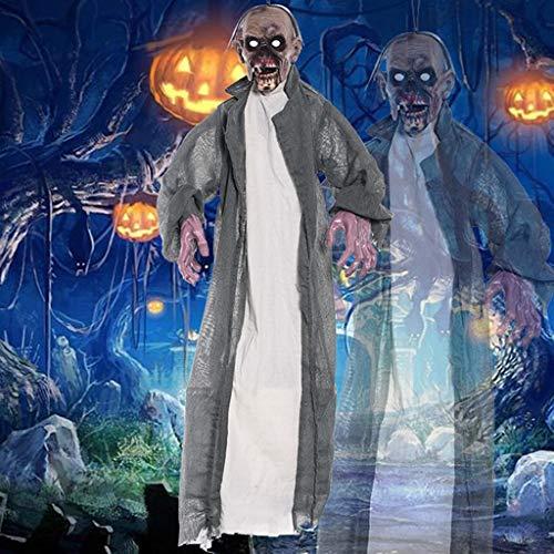 JIBO Inducción De Control De Voz Fantasma Halloween Props Bar Bar Casa Embrujada Decoración Paisaje Props