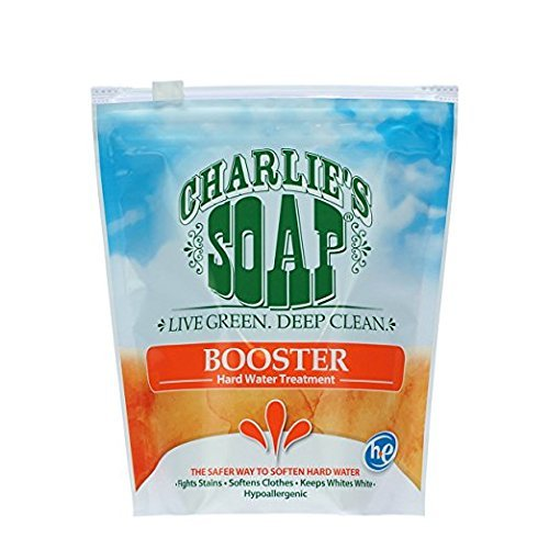 Charlie's Soap, Inc., Booster Hard Water Treatment, 2.64 lbs (1.2 kg)