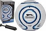 Fussball Soccer Ball mit Ballpumpe Größe 5