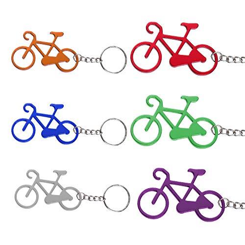 TsunNee - Abridor de botellas para bicicleta, abridor de botellas de cerveza, abrebotellas con llavero...