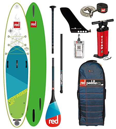Red Paddle Co 2018 Voyager 12'6 Inflatable Stand Up Pad… | 05060345329599