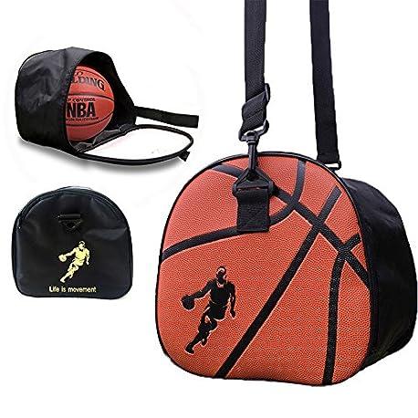 Baffect Portable Pliable Basketball Sac de rangement Sac bandouli re Soccer Ball de football volley ball support pour homme
