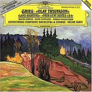 Grieg : Olav Trygvason, Op. 50 / Land-sighting, Op. 31 / Peer Gynt, suites 1 et 2
