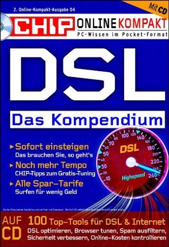 Preisvergleich Produktbild DSL - Das Kompendium CHIP-Serie (CD-ROM+Buch)