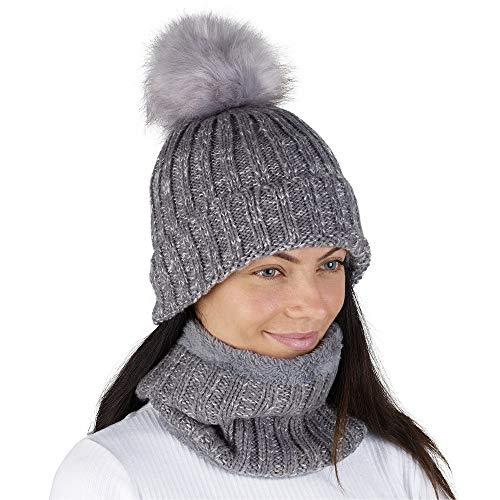 CityComfort Gorras Invierno Mujer Bufanda