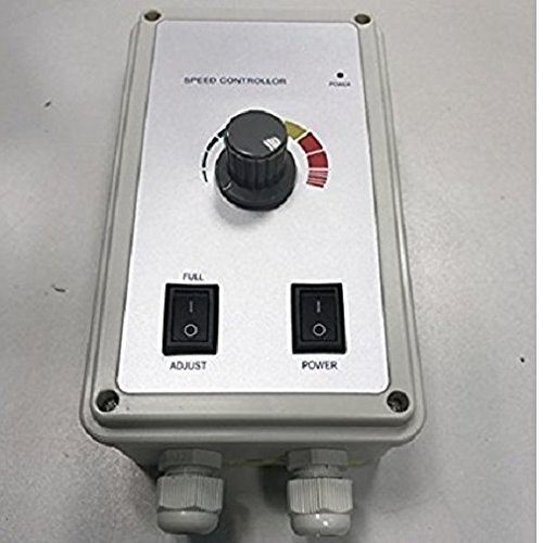 Industrie Drehzahlregler 2000 Watt Drehzahl- Regler Drehzahlsteuerung für Ventilator, Gebläse, Lüfter, Ventilatoren 230V /16A Drehzahlregler, Drehzahlsteller, Spannungsregler, Motor Motoren 230 Volt V