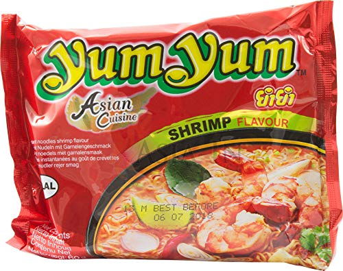 Instant Nudeln mit SHRIMP / GARNELEN Geschmack - yumyum 60g