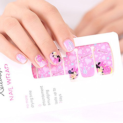 Fashion Shopperrz Water Transfer Manicure Full Tips Cover Decals Set Sticker for Nail Art