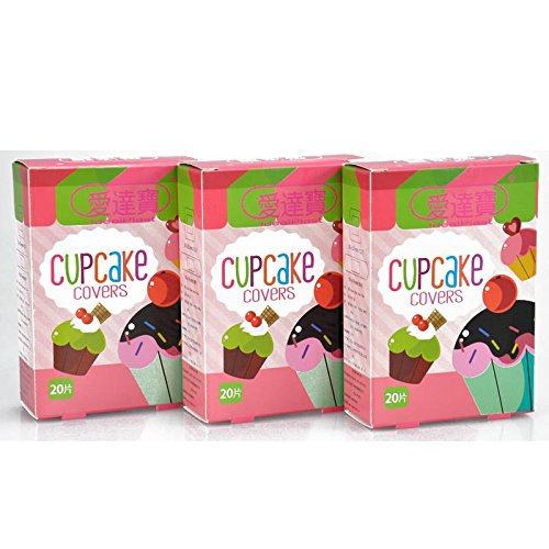 sunny-market-free-shipping-waterproof-breathable-60-pcs-3boxes-assorted-cupcake-bandages-cute-girls-